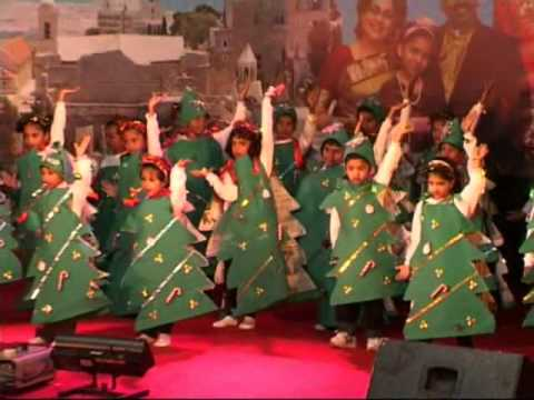 Cute Sunday School Children Perform On The Song - Am The Happiest Christmas Tree video