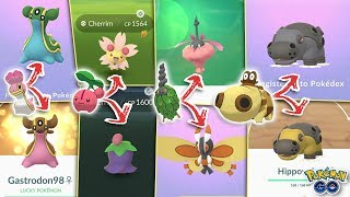 ALL NEW POKÉMON GO FORMS EXPLAINED! Burmy, Hippopotas, Shellos, New Regional Pokémon