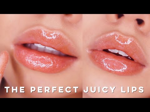 DIY PERFECT NATURAL XXL GLOSSY PLUMP LIPS - YouTube