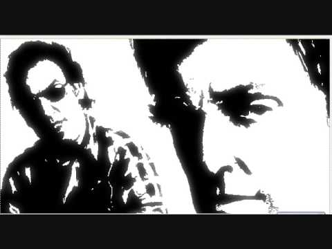 Speed drawing Bruce Springsteen with Gimp 2