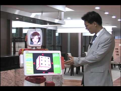 Intelligent service robot, Emotional robot - FURO of FUTUREROBOT Co., LTd.