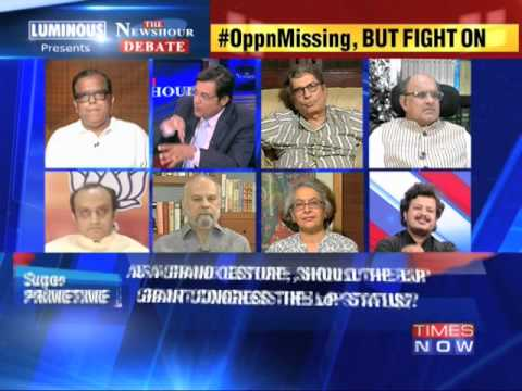 The Newshour Debate: Political fight over key Parliamentary post - Part 2 (13th June 2014)