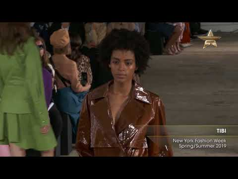 TIBI New York Fashion Week Spring/Summer 2019