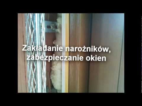 Etapy wykonania tynku gipsowego Knauf MP75L.Tynktech tynki Kraków. www.tynktech.vgh.pl.mp4