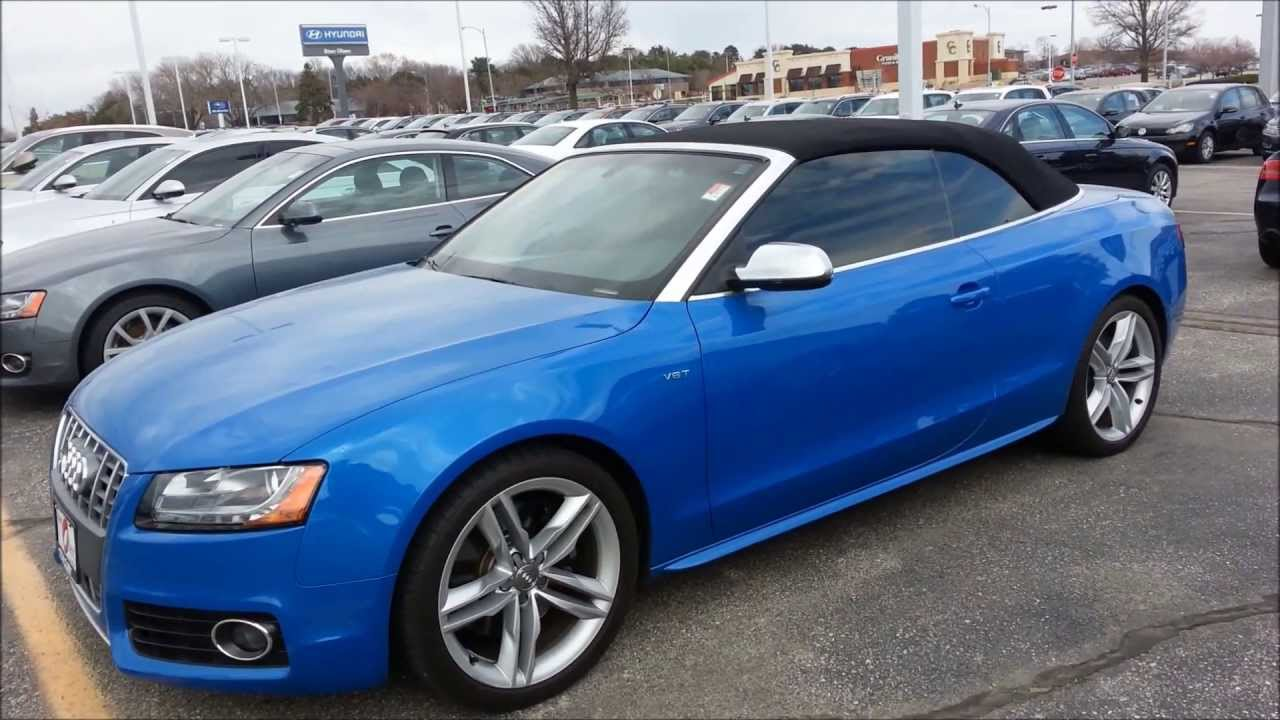 Audi S4 Turbo Supercharged Convertible 2013 Youtube