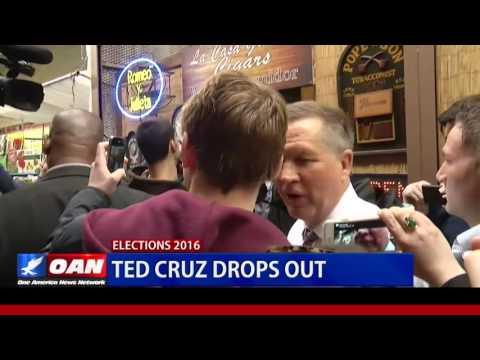 Trump and Sanders win Indiana, Cruz Drops from Race