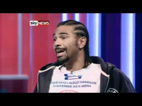 !!david Haye Tells Sky He Stands By 'gang Rape' Boast!! video