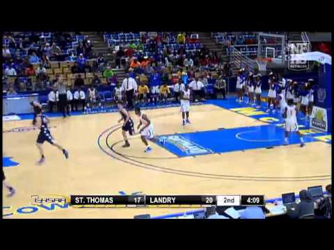 St. Thomas More #4 Orynn Veillon ties game with 3