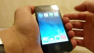 Apple IPhone 4 8GB Refurbished  Unlocked  IOS 7.1.2. AliExpress. Китай.