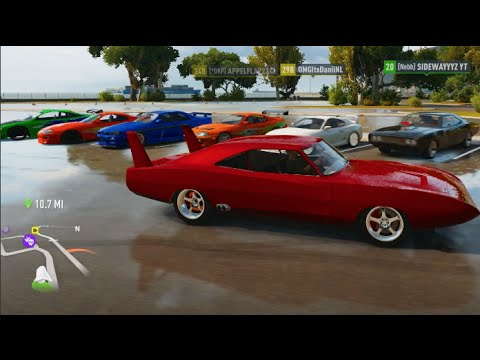 FH2 Fast and Furious 15 Year Anniversary Online Lobby