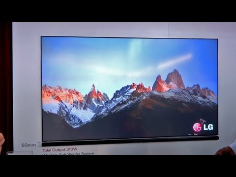 Massive 100-inch Laser TV -- LG HECTO (CES 2013)