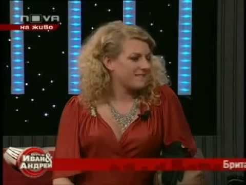Laura Vane @ Ivan & Andrey TV Show Bulgaria