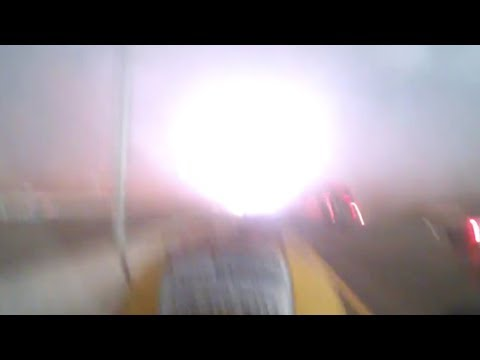 Tornado Rages Outside Of Construction Worker's Truck (Storyful, Crazy Weather)