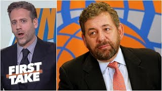 Knicks owner James Dolan is a