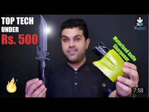 Top Tech and Gadgets Under Rs  500