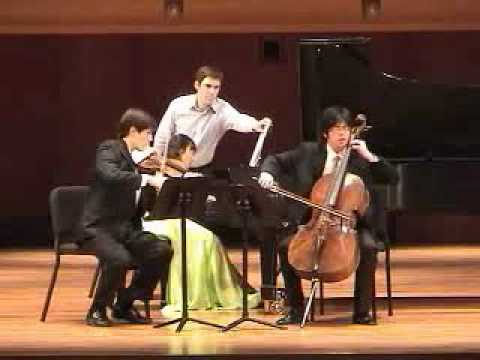 "Beethoven Piano Trio No.4 in D Major, ""Ghost"", 2nd mov."