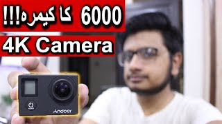 Andoer 4k Dual Screen Action Cam Unboxing + Review
