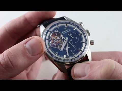 Pre-Owned Zenith El Primero Chronomaster 1969 (0320416406151C70) Luxury Watch Review