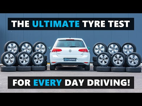12 of the BEST car tyres for every day driving, tested and reviewed!