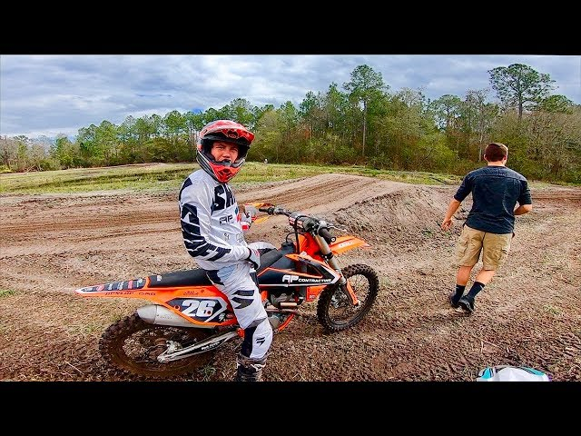 DIRT BIKES AND WARM WEATHER...