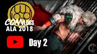Con Vlog Ep 2. [ Day 2] Anime Los Angeles 2018-BNHA gathering
