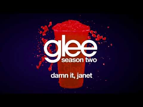 Glee Cast - Damn It Janet