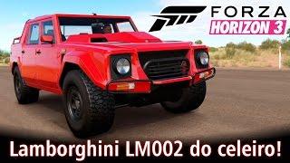 Lamborghini LM002 do celeiro! + Top Speed Ferrari F12 TDF | Forza Horizon 3 [PT-BR]