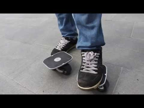 Первые шаги на дрифт скейте (drift skate)