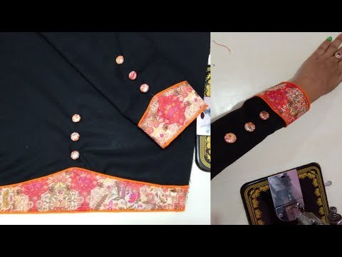Sleeves design for suits / Beautiful baju design in trendy fashion #71 - You Tube