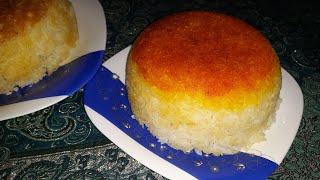 آموزش سه نوع ته دیگ با برنج کته توسط پروانه جوادی خواهر جوادجوادی