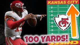 Can Patrick Mahomes Throw A 100 Yard Pass In Madden 19?