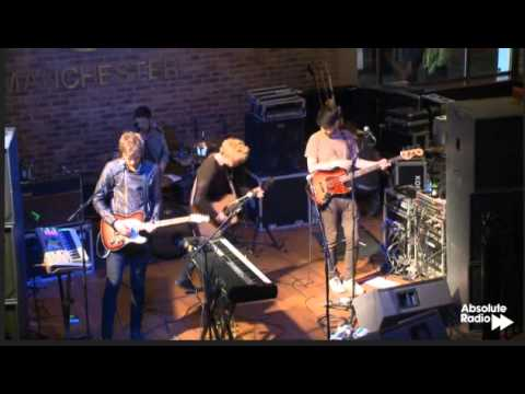 Live session by Kodaline - Absolute Radio- Hard Rock Cafe, Manchester 30 May 2013