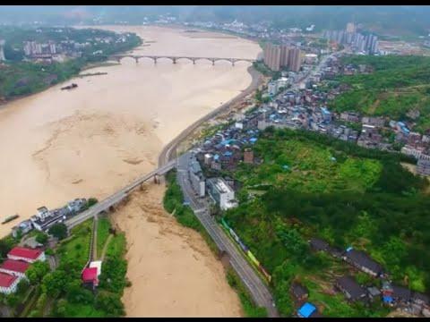 Typhoon Nepartak Brings Devastation to east China Town