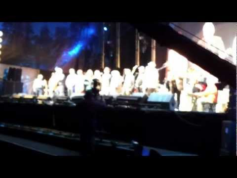 Meet on the Ledge, Cropredy 2012 - poor quality but first chance to see... well, hear!