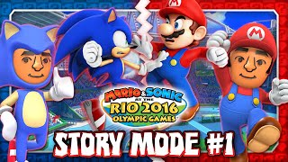 Mario & Sonic at the Rio 2016 Olympic Games - 3DS - Story Mode Part 1