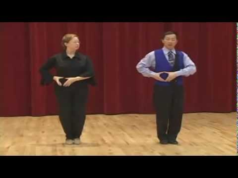 Bronze Tango - Natural Promenade Turn & Rock Turn Ending Dance Lesson