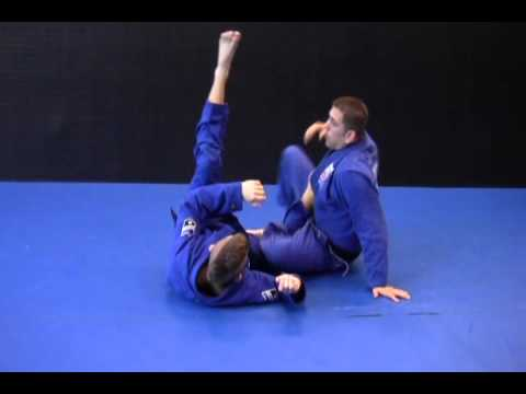 BJJ Butterfly Guard Calf Slicer Image 1