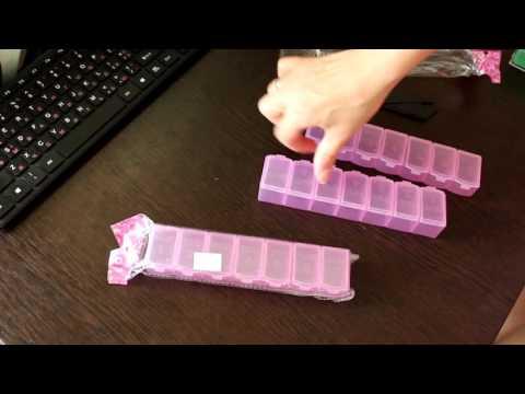 Мои таблетницы с сайта AliExpress  Какую таблетницу выбрать  Покупки с Алиэкспресс
