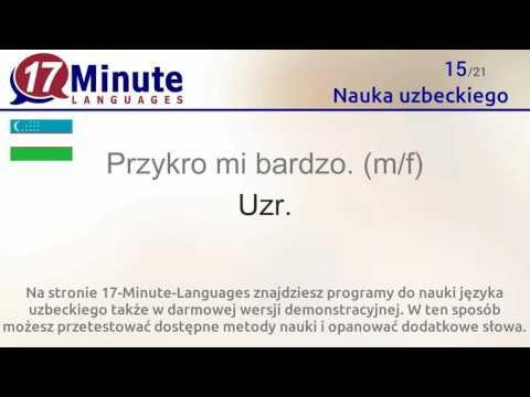 Nauka Uzbeckiego (bezpłatny Materiał Video)
