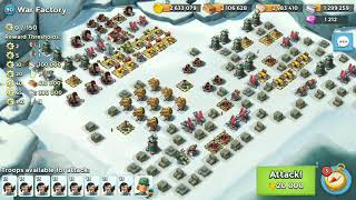 Boom Beach - War Factory Unbooosted SOLO [19-Jul-2018]