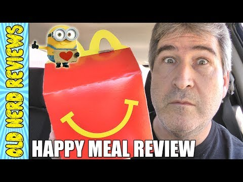 McDonald's Despicable Me 3 Chicken McNuggets Happy Meal REVIEW 🐔