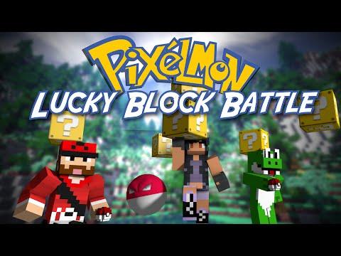 NOOOOO!  PIXELMON: LUCKY BLOCK BATTLE! Round 2