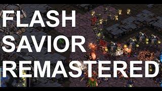 Flash (T) v Savior (Z) on Match Point - SC - Brood War REMASTERED