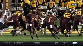 Oregon State at Minnesota: Football Highlights
