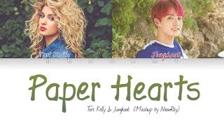 Tori Kelly & BTS Jungkook - 'Paper Hearts' (Mashup) [Color Coded Eng Lyrics]