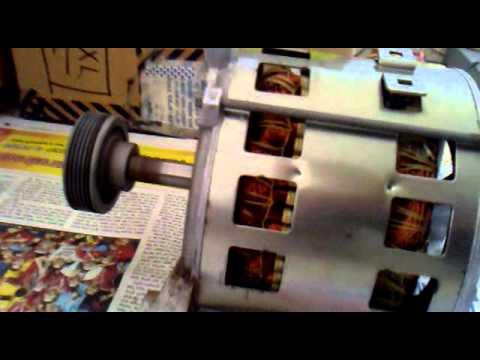 Washing machine motor is working youtube for Washing machine motor wiring