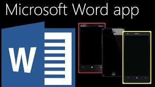 Microsoft Word Mobile App Comparison (Windows 10, iOS 8, Windows Phone 8.1)