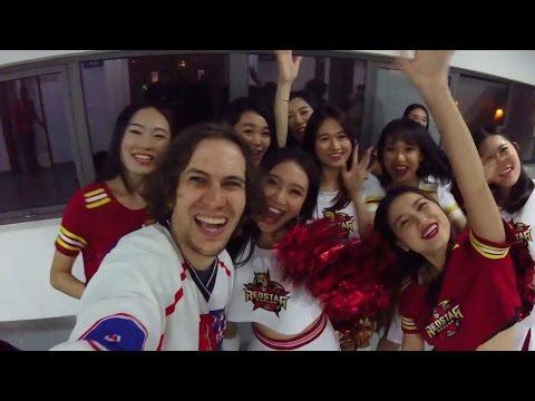 Hokej v Šanghaji (Kunlun Red Star - Traktor Chelyabinsk)
