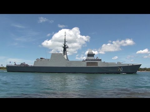Singapore Navy RSS Steadfast Arrives At Pearl Harbor For RIMPAC 2016