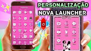 Personalizando meu celular Moto G5S com a Nova Launcher #personalizandomotog